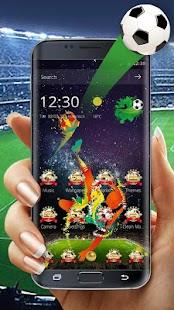 Soccer Hero Football theme - náhled