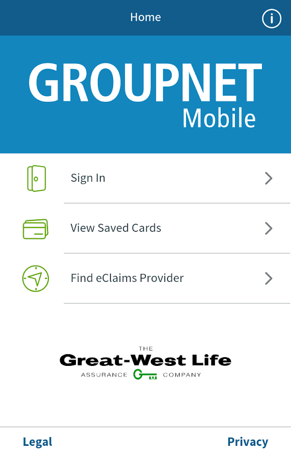 GroupNet Mobile- screenshot