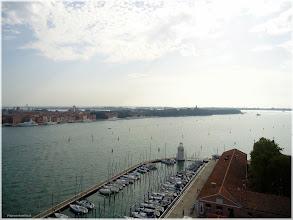 Photo: Vista desde el campanaio de san Giorgio Maggiore. Venecia . http://www.viajesenfamilia.it