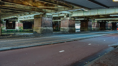 Photo: Viaduct, Centraalstation, Amsterdam