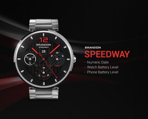 Speedway watchface by Brandon