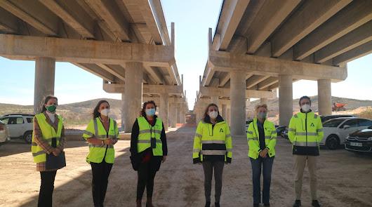 Las obras en marcha en la Autovía del Almanzora acabarán antes de lo previsto