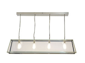 Davey Lighting Diner 125 Taklampa Polerad Nickel - lavanille.com