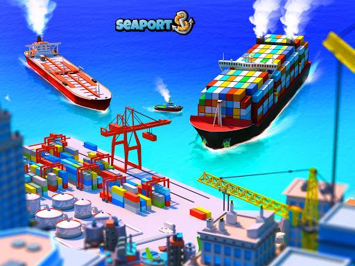 Sea Port: Build Town & Ship Cargo in Strategy Sim 1.0.119 screenshots 17