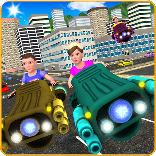 Kids Hover Craft Speed Racing (game)