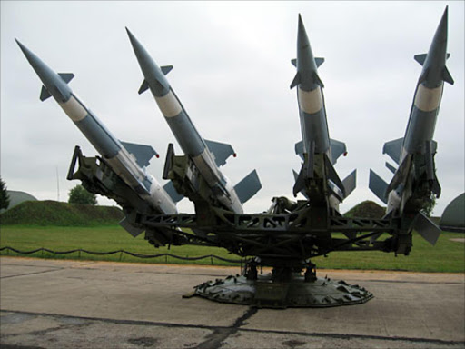 Missiles. File Photo.