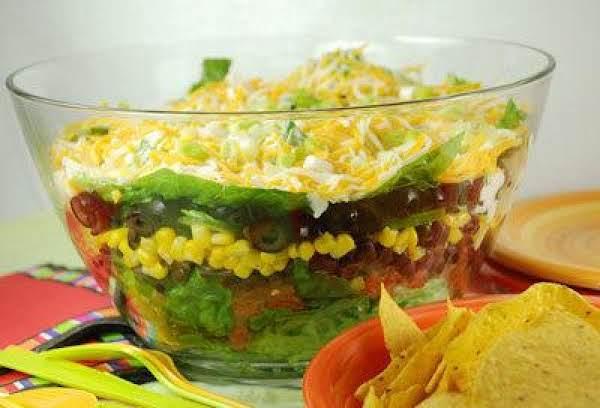 10 Layer Mexican Salad Recipe