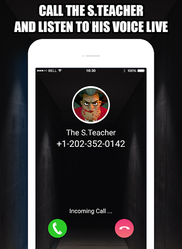 Talk To Teacher 3D™ - Scary Teacher Call Simulator APK MOD (Astuce) screenshots 4