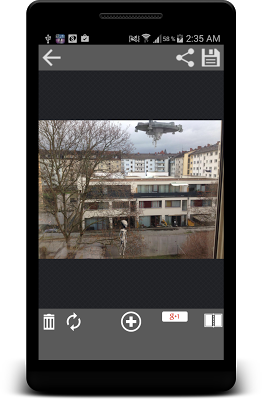 Alien Photo Editor: UFO Photo - screenshot