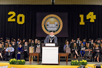 Photo: Welcome by President Roger N. Casey