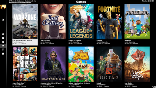 SmartTV Client for Twitch screenshot 1
