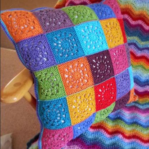 Crochet Pillow Decorations