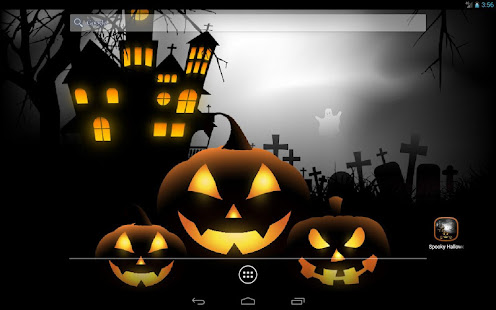 Spooky Halloween Free Live Wallpaper 8