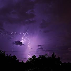 Lightning Portal by Cobus van Zyl - Landscapes Weather ( lightning, storm, thunder, thunderstorm, storms )