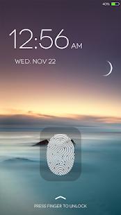 Fingerprint LockScreen Simulated Prank 2