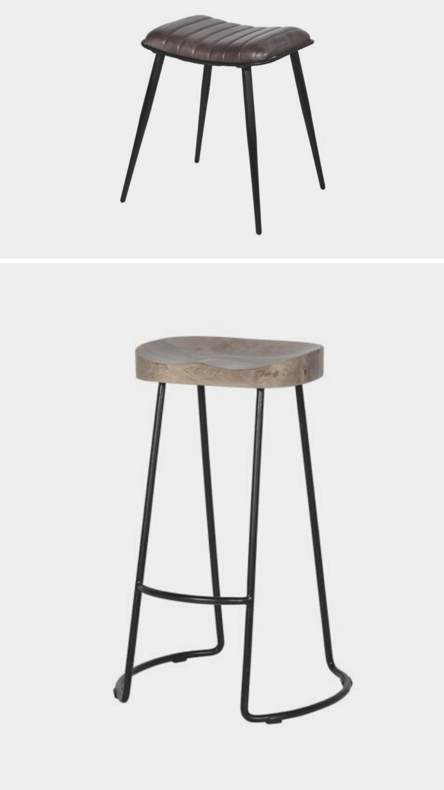 the industrial look stools