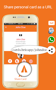 Business card reader card scanner organizer pro apps on google play screenshot image reheart Image collections
