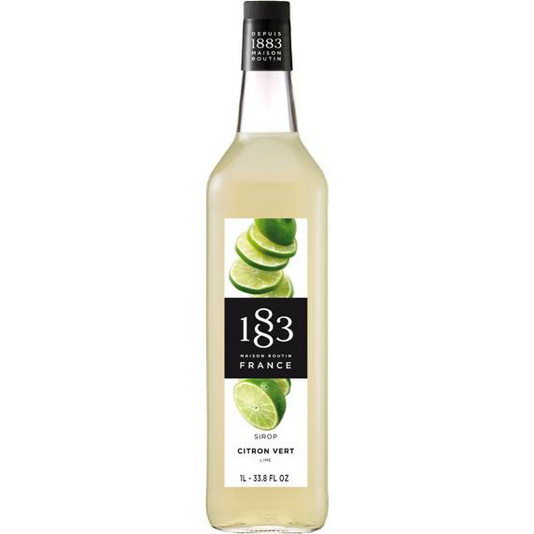 1883 LIME SYRUP 1L by Trendy ProAsia