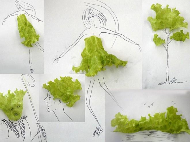 Artista Victor Nune _ilustraciones con objetos_arte creativo