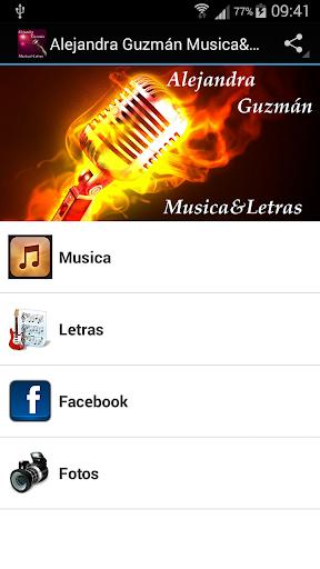 Alejandra Guzmán Musica Letras