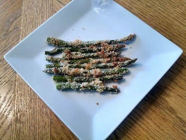 Parmesan Crusted Roasted Asparagus Recipe