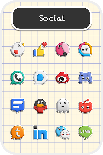 Poppin icon pack 1.7.5 screenshots 2