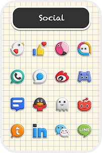 Poppin icon pack v1.7.4 [Patched] 2