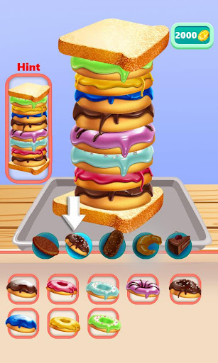 Delicious Silly Sandwich Master! android2mod screenshots 3