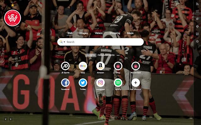 Western Sydney Wanderers FC Homepage