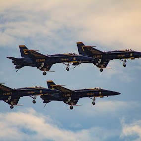 Blue Angels by Rohan Jackson - Transportation Airplanes