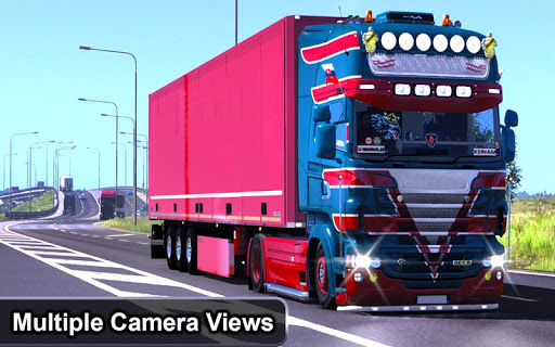 Indian Truck Offroad Cargo Drive Simulator 2 apkdebit screenshots 2