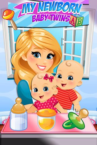 My Newborn Twins Baby Mommy