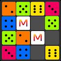 Classic Dice Merger- Ludo/Block/Merge/Color Puzzle icon