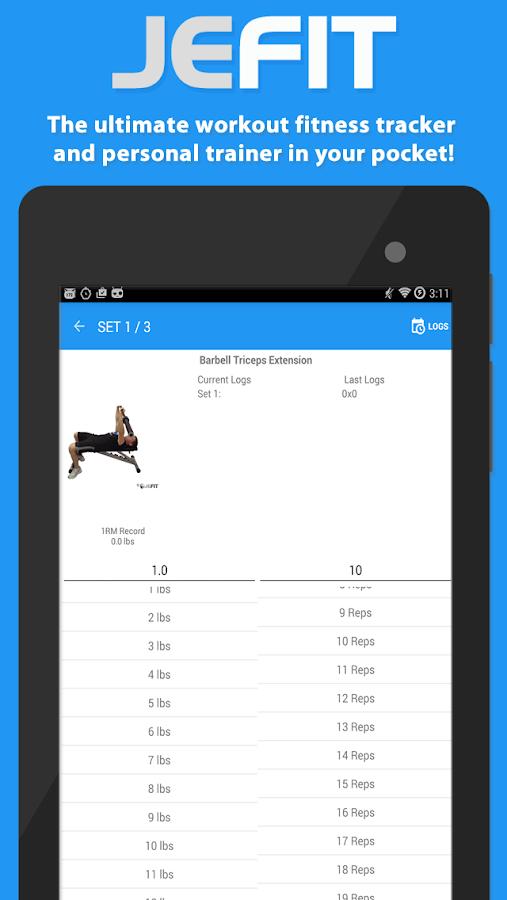 JEFIT: Workout Tracker