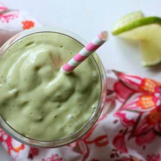 Key Lime Pie Avocado Smoothie.