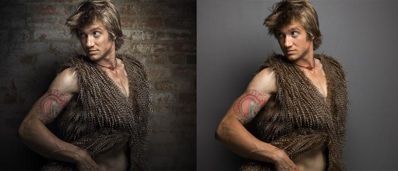 Photo: Retouch comparison