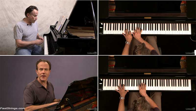 Jazz Piano Lessons: 4 Tunes & Practice Routines