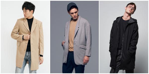 男性穿搭 大衣外套