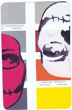 Photo: Wenchkin's Mail Art 366 - Day 127, card 127c