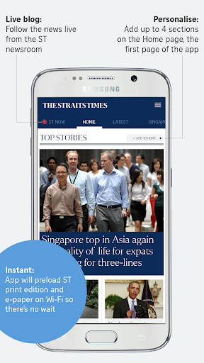 The Straits Times for Smartphone 7.2.3 Screenshots 2