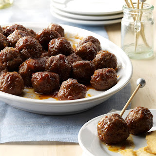 Holiday Appetizer Meatballs.