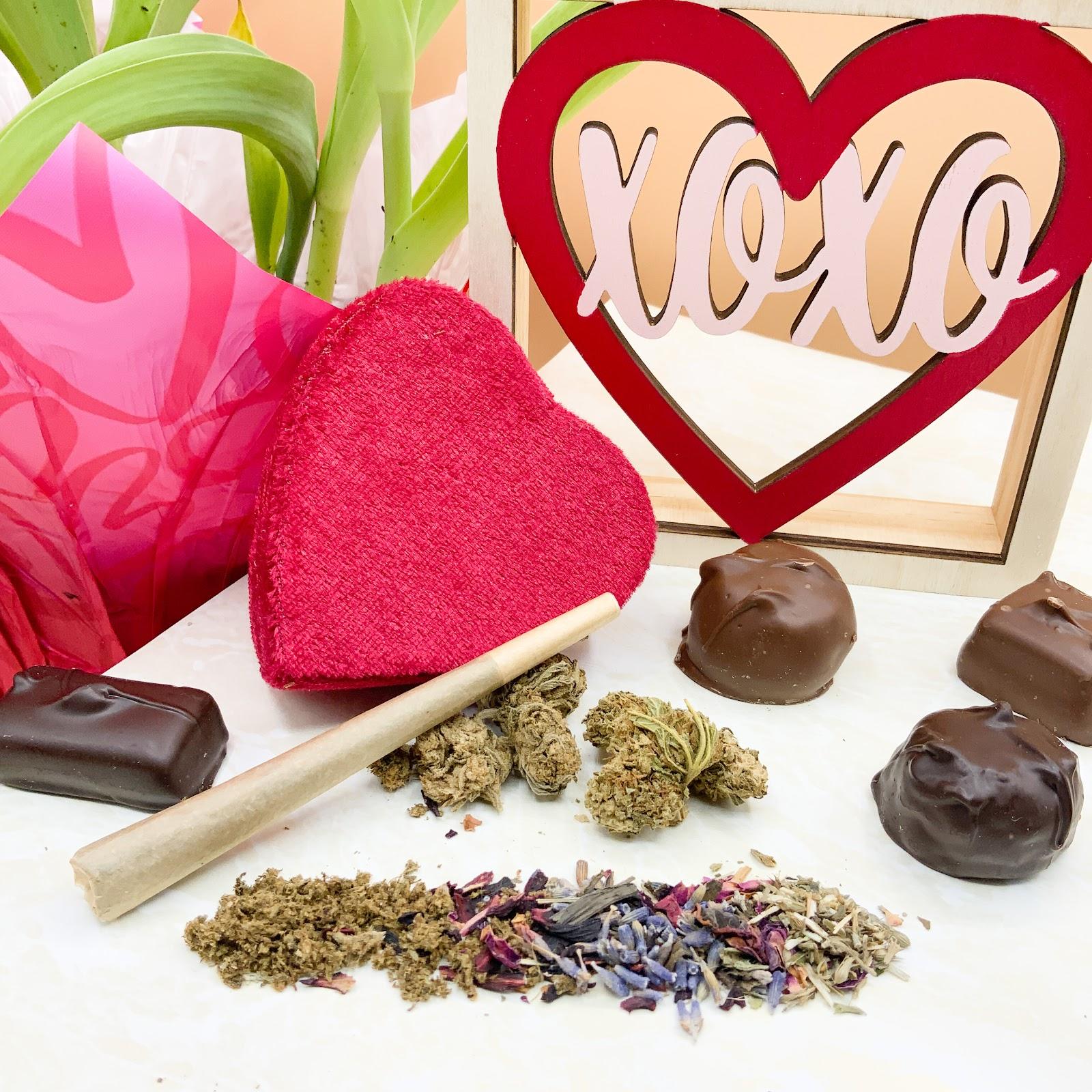 Smokable CBD Hemp Preroll for Valentine's Day
