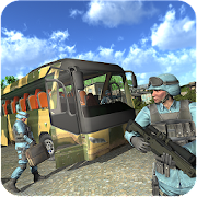 Army Coach Bus Driver 18 - Soldier Transport Duty