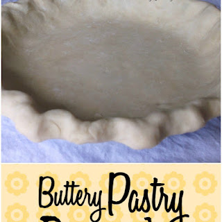Buttery Flaky Pastry Dough.