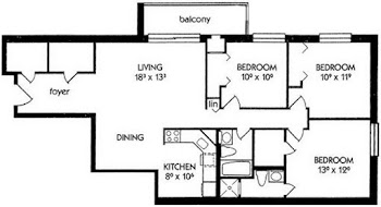 Go to K Floorplan page.