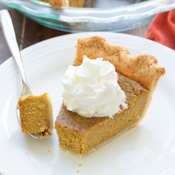 Classic Pumpkin Pie Recept   Yummly