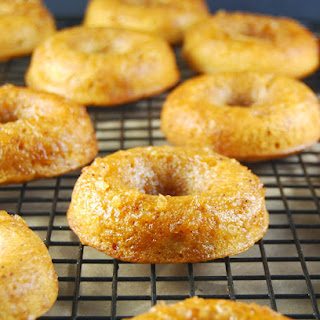 Baked Apple Pie Donuts (they're whole wheat!)