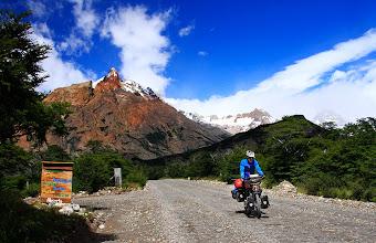 Photo: La route entre El Chalten et le Lago Desierto