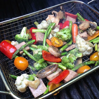 Marinated Vegetables with Tofu