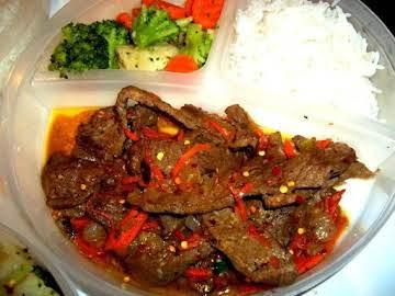 ~ Tender Korean Style Beef ~